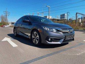 Honda Civic 2017 рік